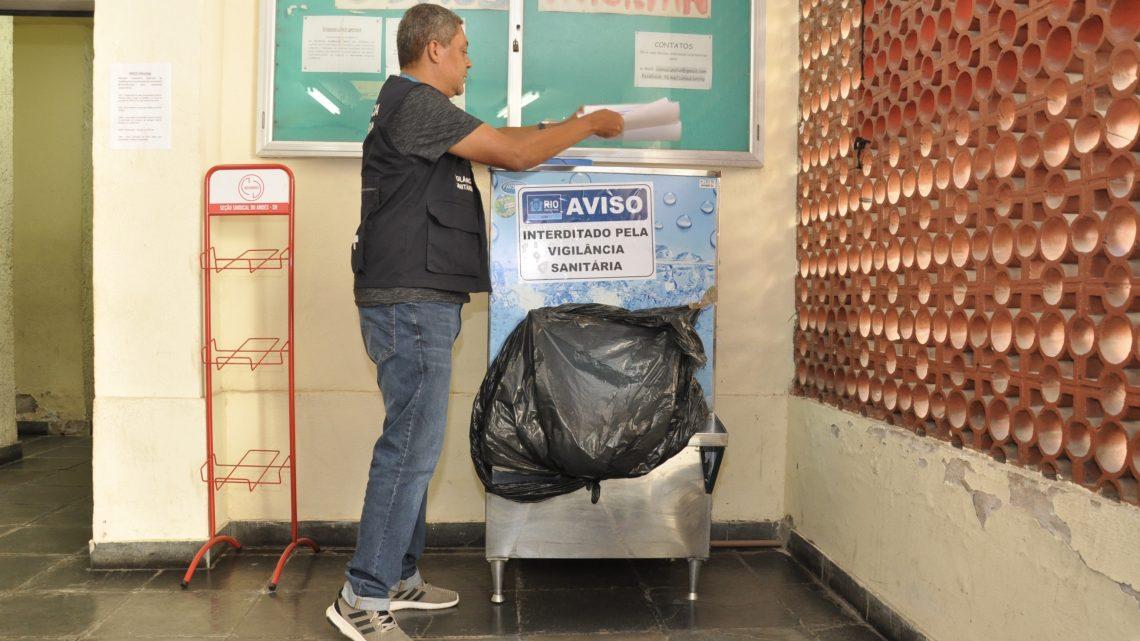 Vigilância Sanitária interdita reservatórios de água do Centro de Letras e Artes da Unirio