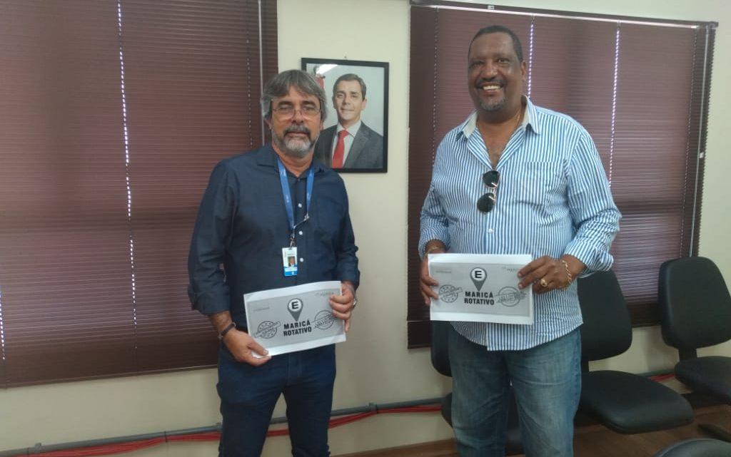 Vereador Aldair de Linda participa de reunião sobre o Maricá Rotativo