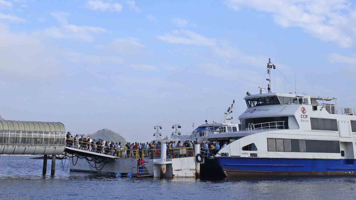 Polícia detém foragido na estação das barcas