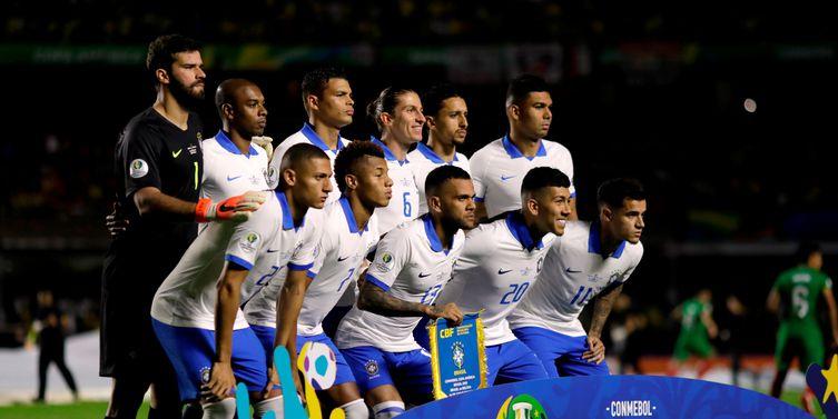 Brasil treina hoje em Porto Alegre para jogo das quartas de final