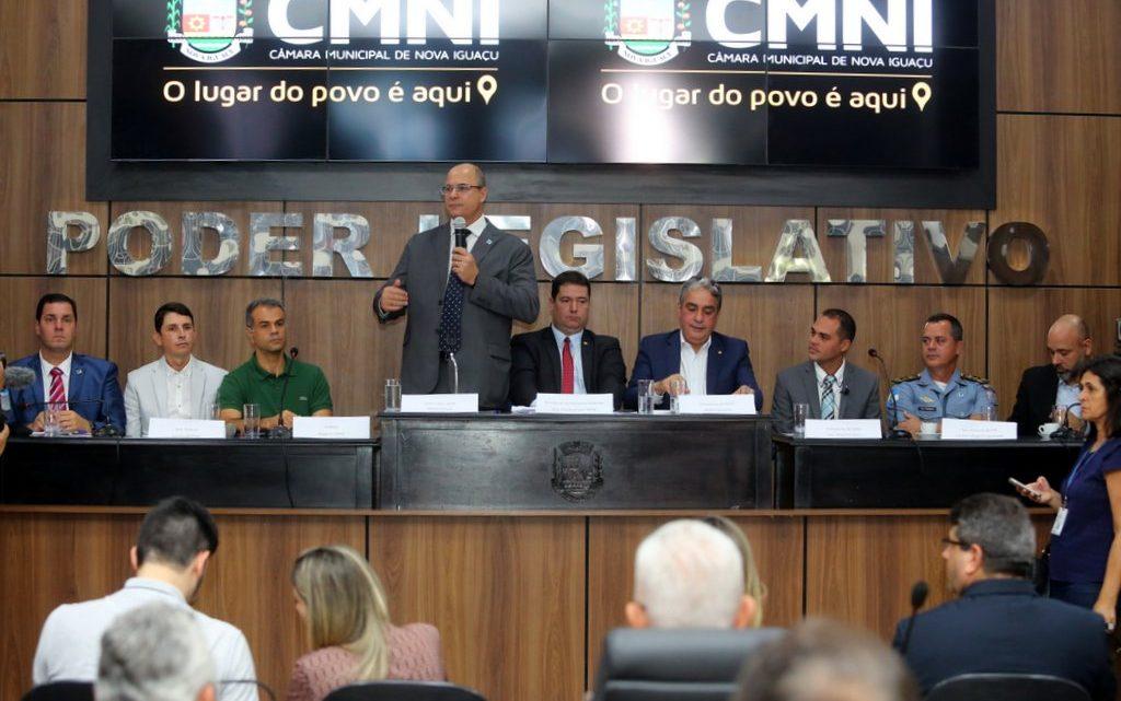 Governador anuncia a expansão do Segurança Presente para a Baixada