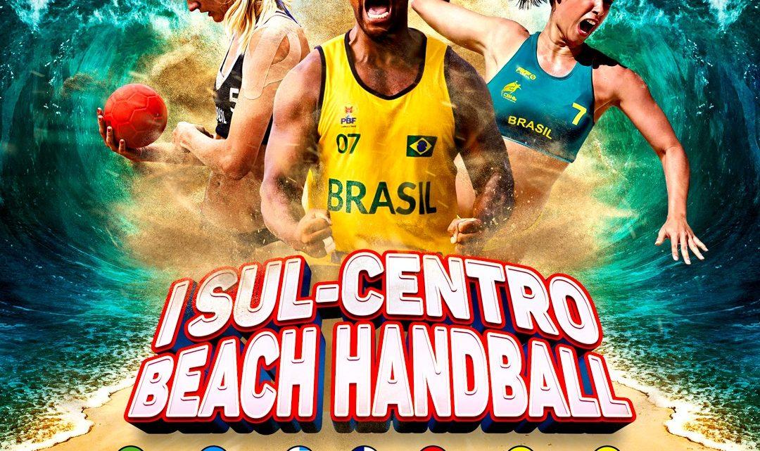 Seleção brasileira de Beach Handball se apresenta domingo em Araçatiba