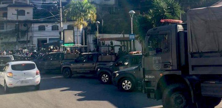 PM realiza operação em comunidades de Niterói