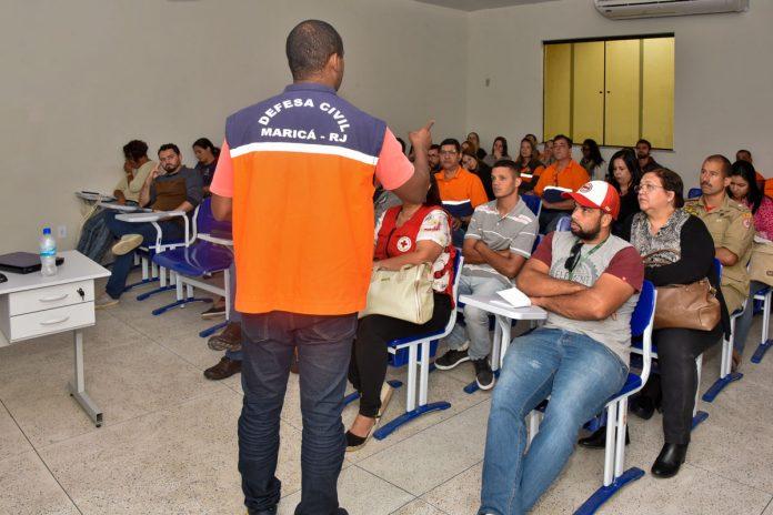 """Defesa Civil promove curso de """"Gerenciamento de Abrigos Temporários"""""""