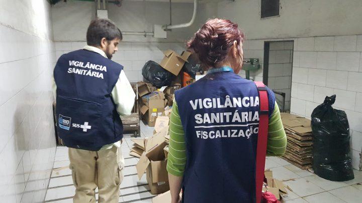 Vigilância Sanitária interdita restaurante oriental por falta de higiene no Edifício Avenida Central