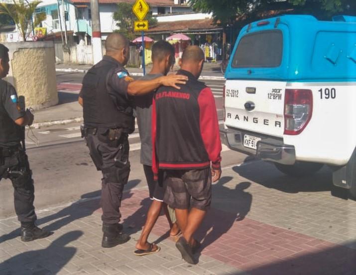 Homens são presos acusados de furtar cabos telefônicos