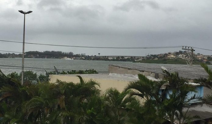 Marinha emite alerta de ventos fortes e ressaca para cidades da Região dos Lagos do Rio