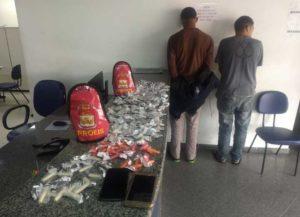 Rapazes acusado de tráfico de drogas é presa em Maricá