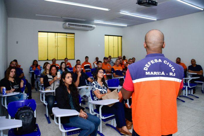 Maricá promove capacitação para população saiba lidar com desastres climatológicos