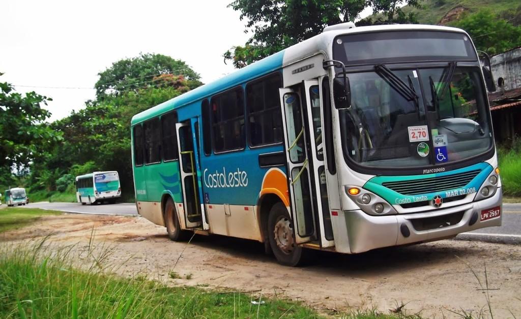 Ônibus da Viação Costa Leste serão leiloados no dia 20 de setembro