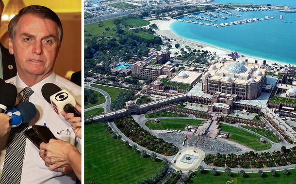 Bolsonaro foi ao hotel mais luxuoso do mundo com dinheiro público