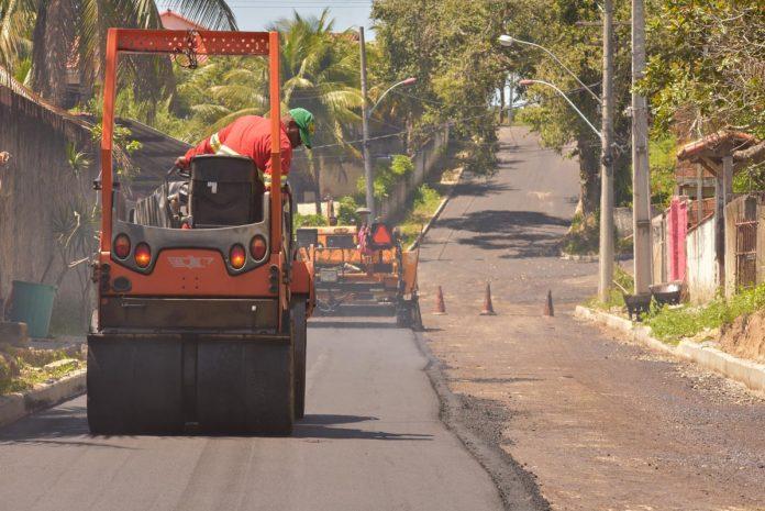 Pavimentação beneficia moradores de Bambuí e do Parque Eldorado