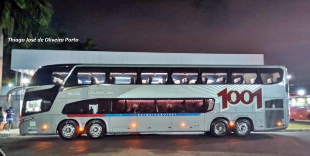 Auto Viação 1001 realiza primeira viagem da linha Maricá-São Paulo