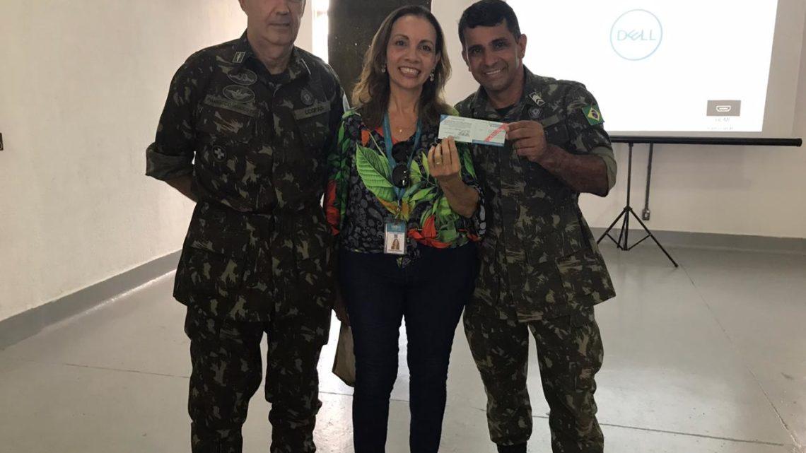 Vigilância capacita grupo do Exército que estará na Operação Acolhida