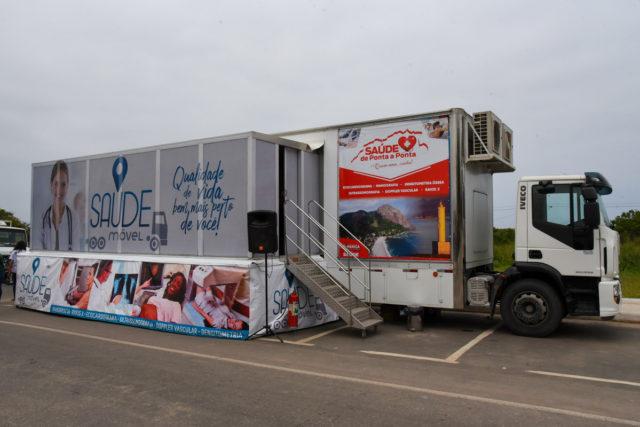 """Caminhão da Saúde"""" chega em São José do Imbassaí"""