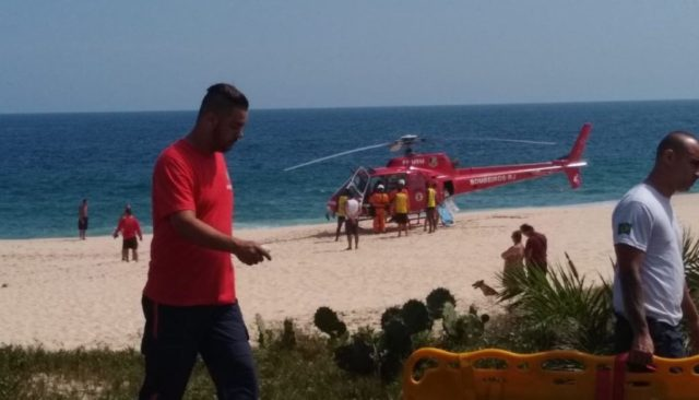 Adolescente sofre afogamento na Praia de Itaipuaçu