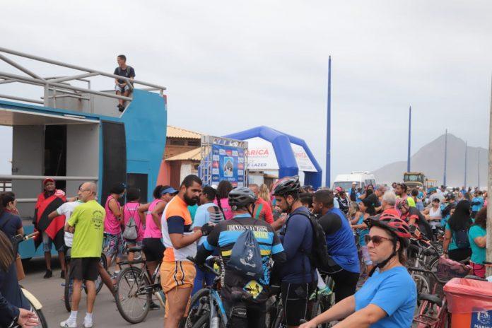 """""""Pedala, Itaipuaçu!"""" reúne cerca de 250 ciclistas"""