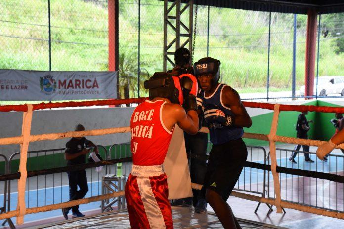 Maricaense é campeão na 8ª etapa do Circuito Estadual de Boxe