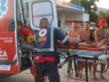 Uma mulher morre depois de ser atropelada na RJ 106