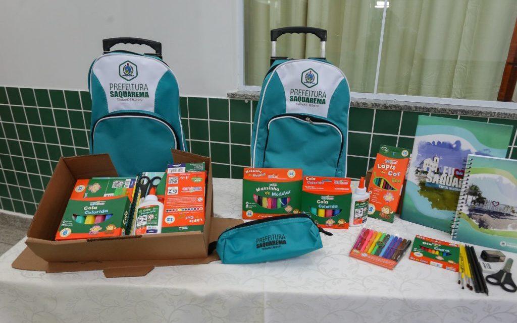 Prefeitura de Saquarema entregará kit escolar aos alunos do município