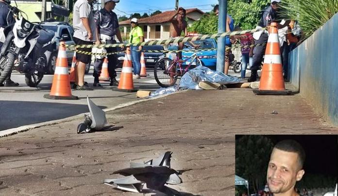 Jovem morre em grave acidente de moto no Centro de Maricá