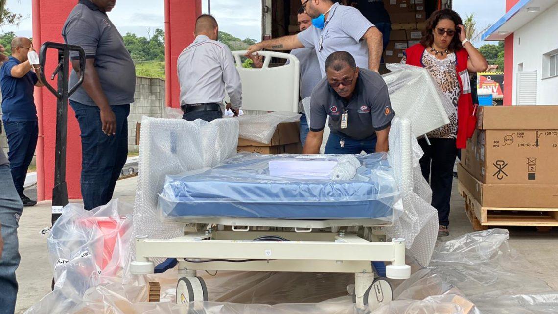 Hospital Che Guevara recebe 150 leitos e terá tomógrafo mais avançado do estado