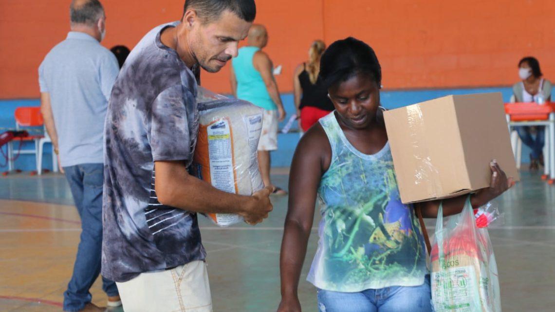 Prefeitura divulga cronograma para entrega de cestas básicas