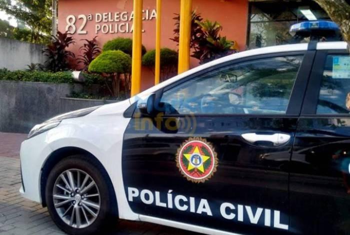 Um Homem é detido em desmanche de carro em Maricá