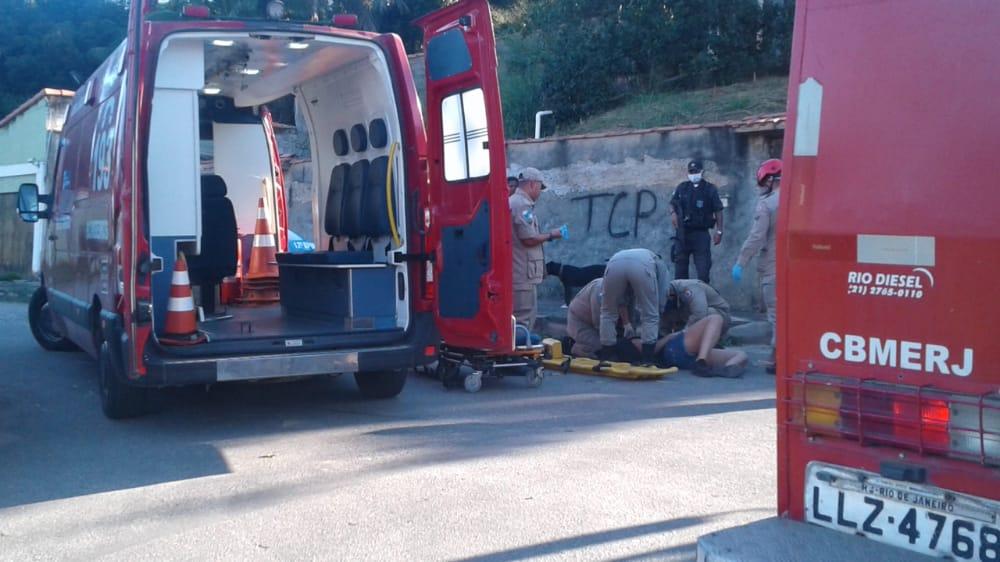 Mulher fica ferida após acidente no Boqueirão