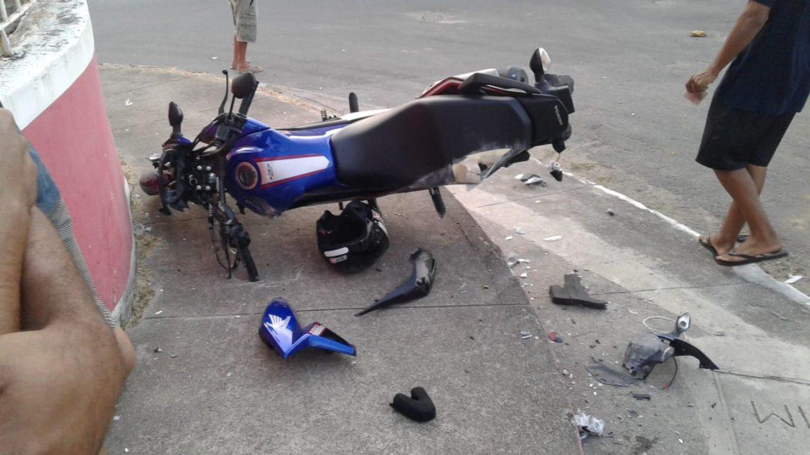 Briga de trânsito no Boqueirão