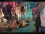 Acidente de carro e moto em itaipuaçu