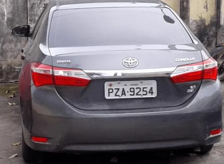 Veículo clonado é apreendido em Maricá