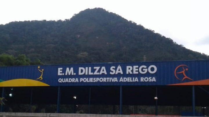 Inauguração de Quadra Poliesportiva na Escola Dilza Sá Rêgo