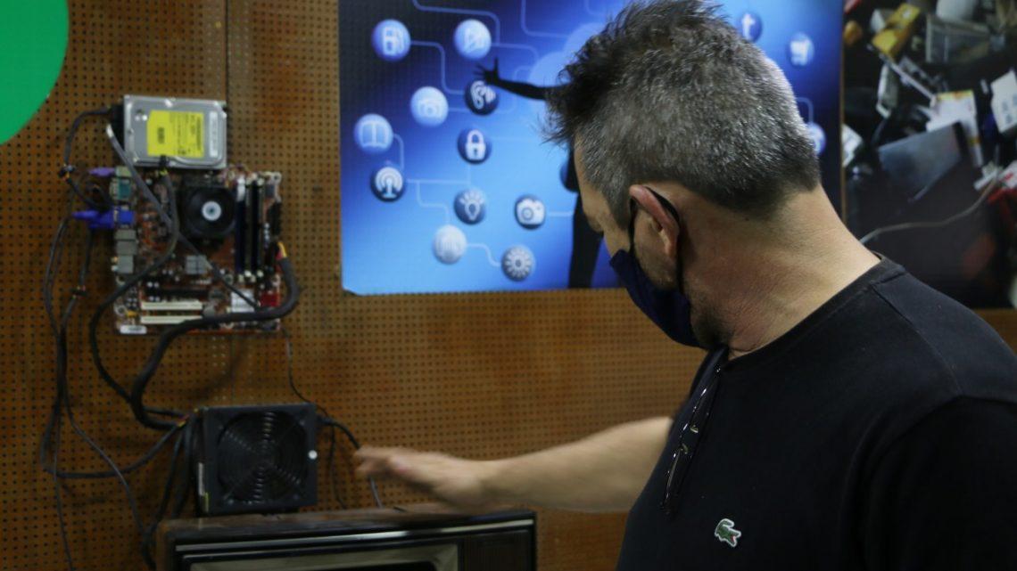 Primeiro Centro de Recuperação de Computadores do estado é inaugurado em Maricá