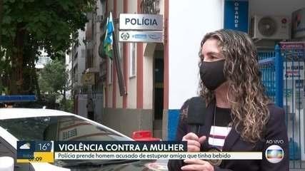 Polícia do RJ prende suspeito de ter estuprado amiga após festa em Campo Grande