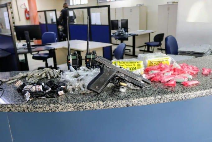 Operação em conjunto das polícias Civil e Militar prende os lideres do tráfico em Maricá