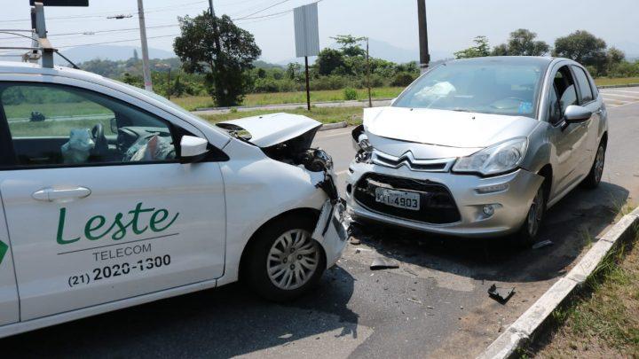Acidente deixa uma pessoa ferida em Maricá