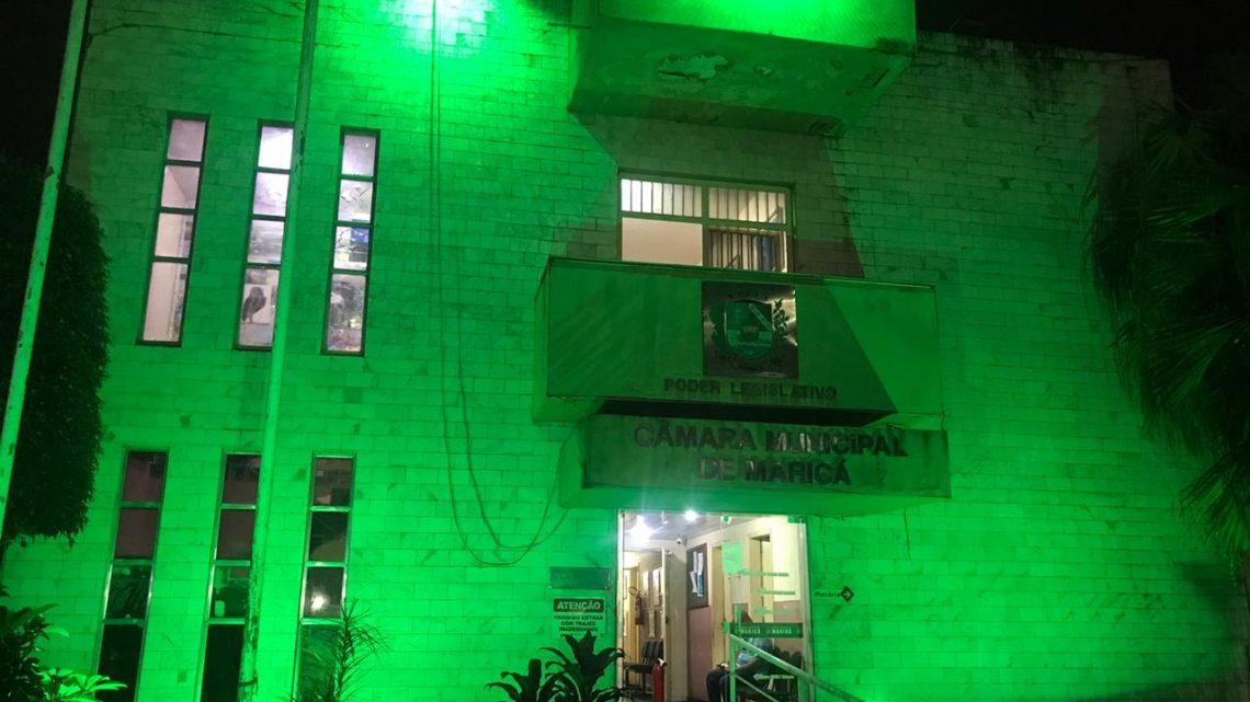 Câmara muda iluminação em homenagem aos profissionais de Educação Física