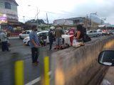 Acidente na RJ 106 deixa uma pessoa ferida em Maricá
