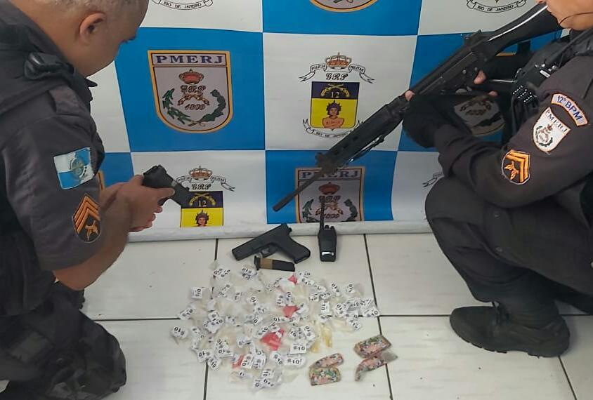 Homem foi detido com droga em Maricá-RJ