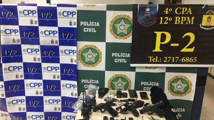 Integrantes de quadrilhas de roubo de carga em São Gonçalo são presos em Niterói-RJ