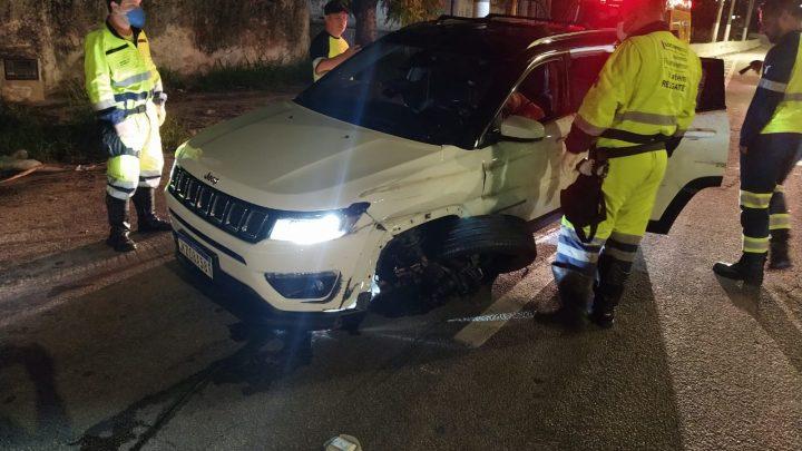 Motorista é baleado na BR-101, em Niterói-RJ