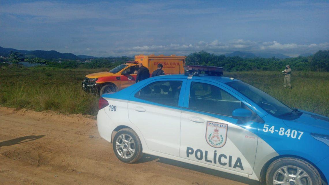 Corpo é encontrado na restinga em São José do Imbassaí em Maricá-RJ
