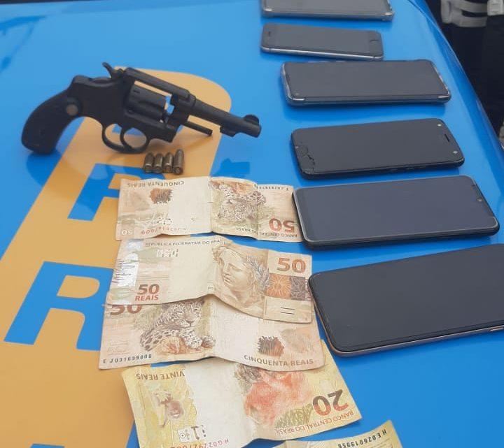 Um homem é preso acusado de efetuar roubos em Marica-RJ