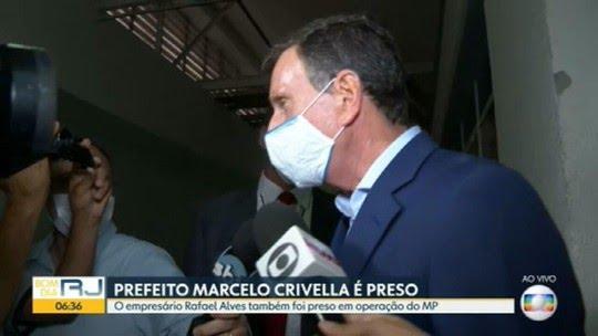 Prefeito Marcelo Crivella é preso em operação da polícia e do MPRJ