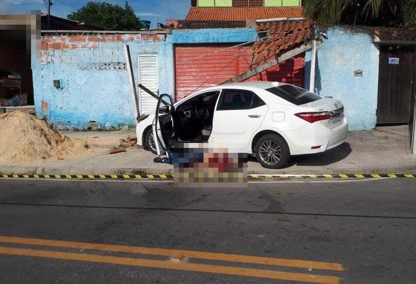 Filho de ex-prefeito de Maricá é morto a tiros em plena luz do dia