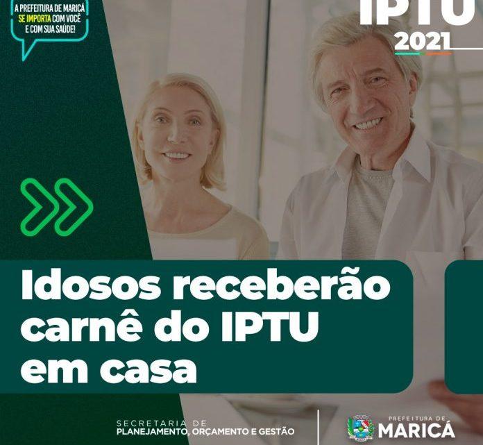 Idosos irão receber IPTU em casa a partir do dia 12/01