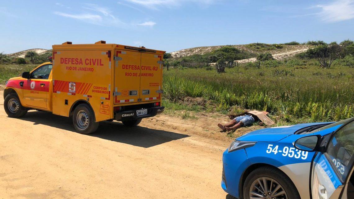 Identificado o corpo do homem morto na Restinga  em Maricá-RJ