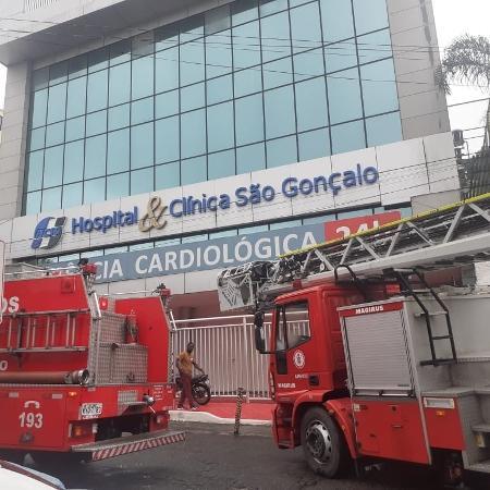 Incêndio atinge hospital e deixa um morto em  São Gonçalo-RJ