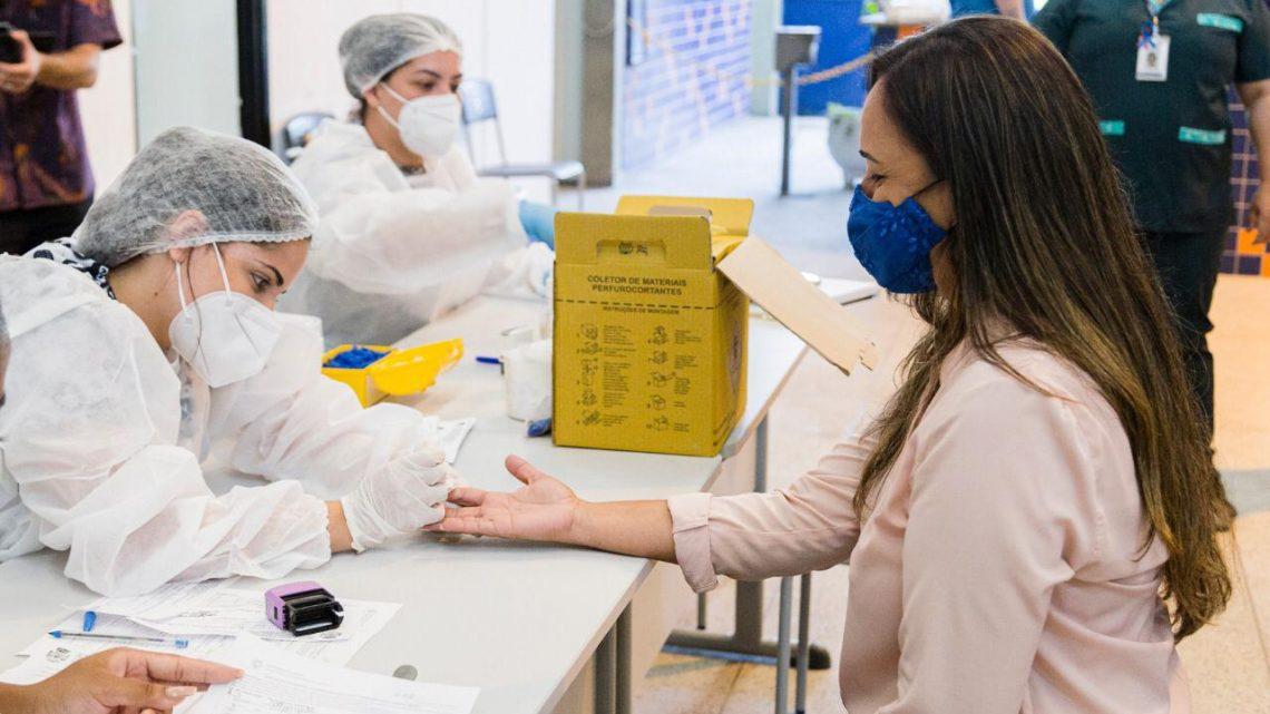 Educação SG inicia 2021 com testagem de profissionais em São Gonçalo-RJ
